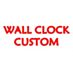 Wall Clock Custom