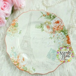 Paris Eiffel - Salad Plate