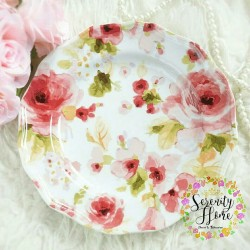 Romantic Rose - Salad Plate