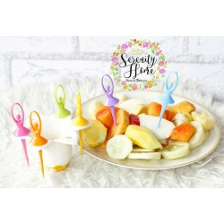 Flower Fairy Fruit Fork