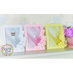 Colorful Flower Photo Frame