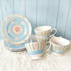 Blue Eleanor - Tea Set