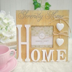 Wood Frame - HOME